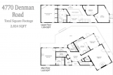 MLS # 999999: Custom Designed Floor Plan