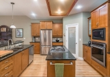 MLS # 222222: Huge Island In A Magnificent Kitchen With Gas Stovetop